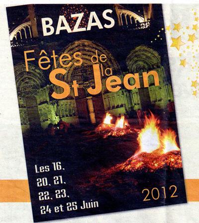 fête de la saint-jean à BAZAS
